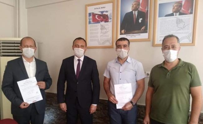 """Alaşehir'de 3 okula """"Okulum Temiz"""" belgesi verildi"""