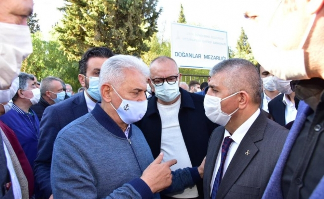 Başkan Ergün Küçük ailesinin acısını paylaştı