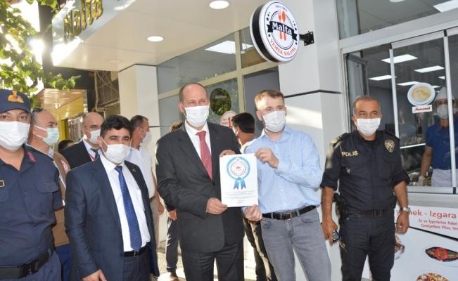 Manisa'da ilk 'Güvenli iş yeri sertifikası' verildi