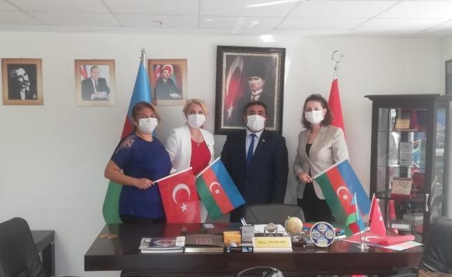 Manisalı siyasiler ve STK'lardan Azerbaycan'a tam destek