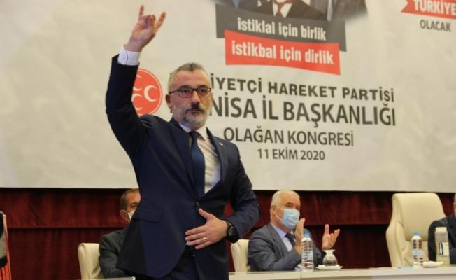 MHP Manisa İl Teşkilatı'nda kongre heyecanı