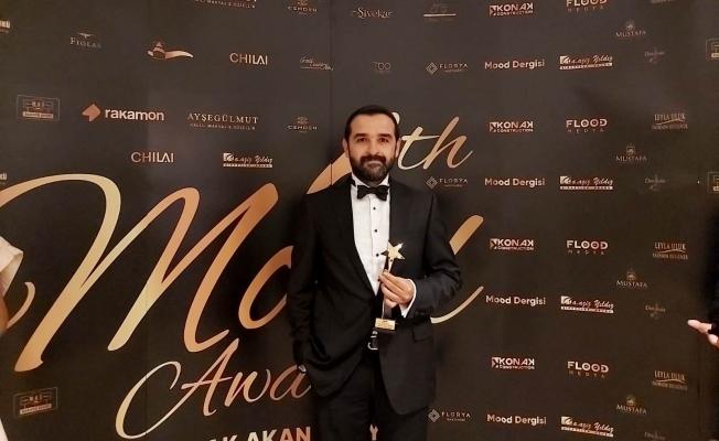Mood Ödülleri Gecesi'nde bir ödül de Manisa'ya