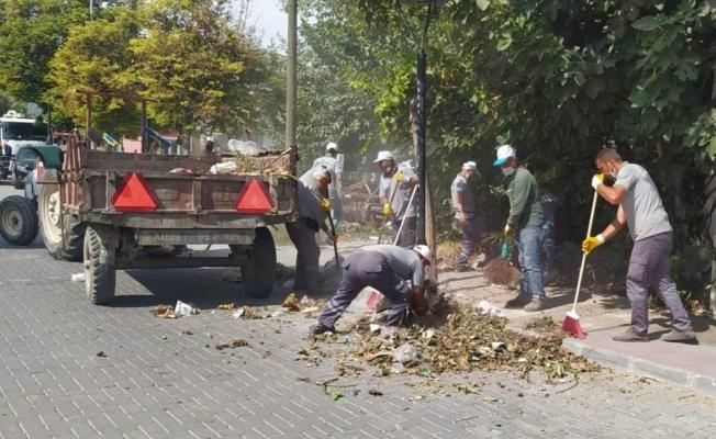 Saruhanlı Belediyesi ilçede temizlik seferberliği başlattı
