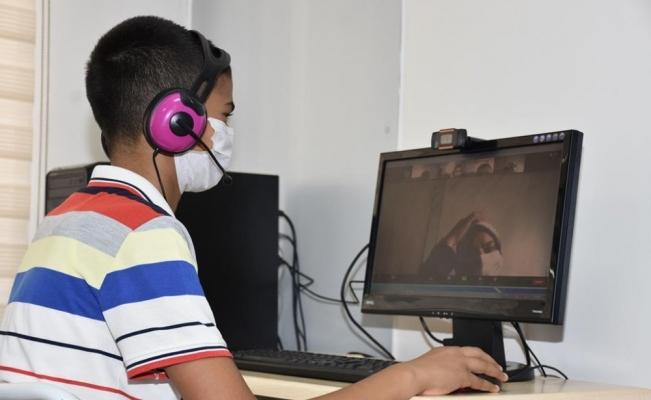 Şehzadeler Belediyesi EBA Eğitim Sınıfı'nı hizmete açtı