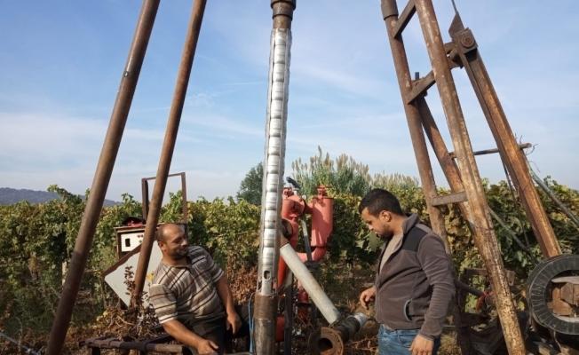 Sulama tesislerine büyükşehir desteği devam ediyor