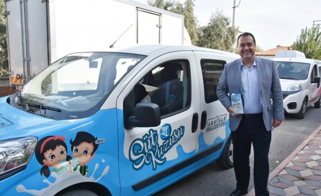 Akhisar Belediyesinin 'Süt Kuzusu' projesi başladı