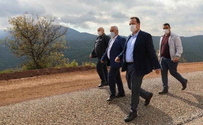 Başkan Besim Dutlulu'dan kırsal mahallelere çıkarma
