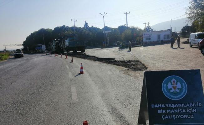 Halitpaşa'da sıcak asfalt başladı