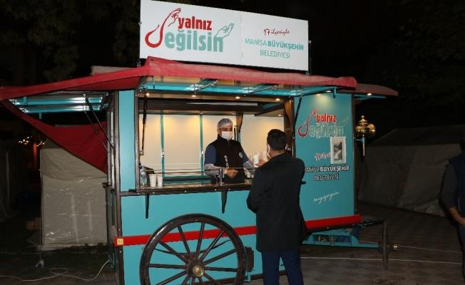 Manisa Büyükşehir Belediyesi İzmir'in yanında olmaya devam ediyor