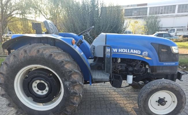 Manisa'dan çalınan traktör, Adıyaman'da bulundu