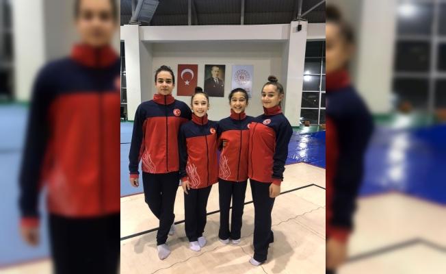 Manisalı Cimnastikçilerden uluslararası başarı