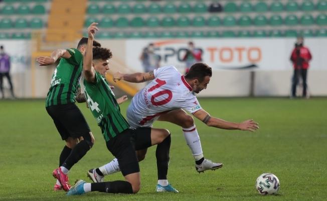 TFF 1. Lig Akhisarpor: 2 - Boluspor: 2