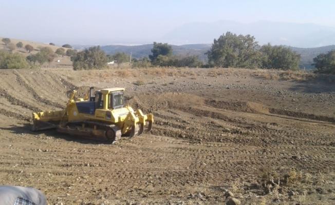 Yunusemre'de 2 HİS göletinde daha temizlik başladı
