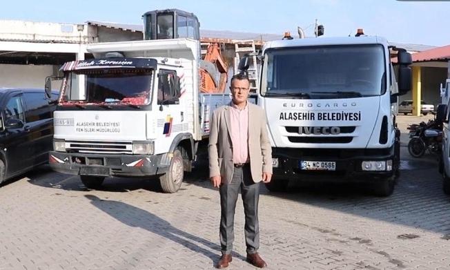 Alaşehir Belediyesi araç filosuna 4 yeni araç daha katıldı