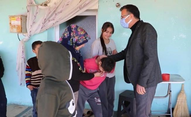 Manisa'da engelli gencin yüzünü güldüren çalışma