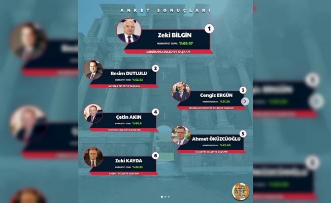Manisa'nın en başarılı Belediye Başkanı Zeki Bilgin