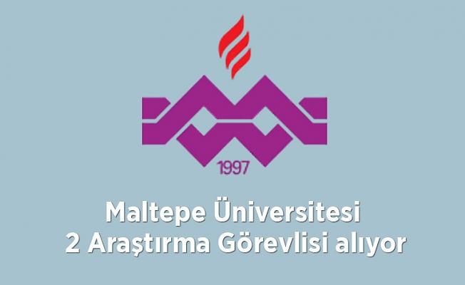 Maltepe Üniversitesi 2 Araştırma Görevlisi alıyor