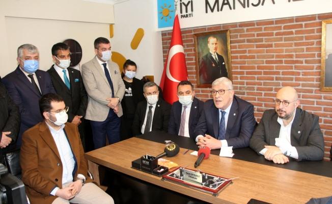 İYİ Partili Dervişoğlu : 'Milletin yüzde 75'i  bunlara oy vermeyecek'