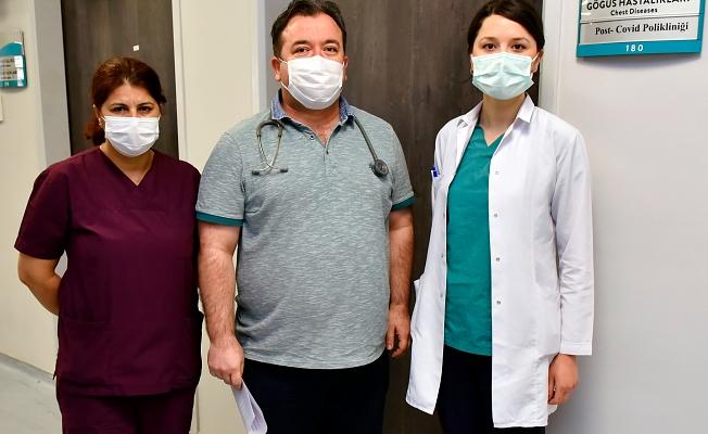 Covid geçirip şikayetleri devam edenler için poliklinik açıldı