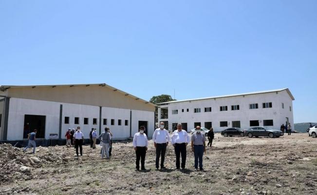 Başkan Çerçi Yuntdağı'ndaki yatırımları inceledi