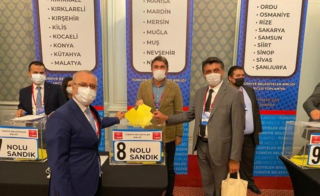 Başkan Kayda, Türkiye Belediyeler Birliği toplantısına katıldı