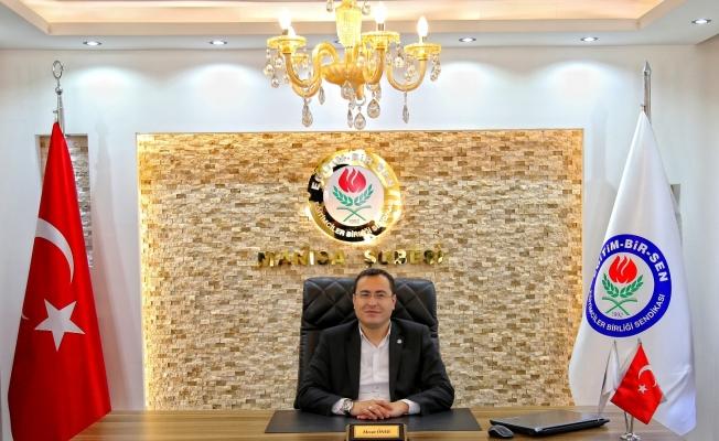 """Başkan Öner: """"Açlık sınırı 2 bin 734 lira oldu"""""""