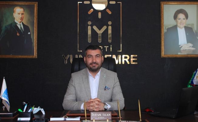 İYİ Partili Akan'dan Akşener'e destek