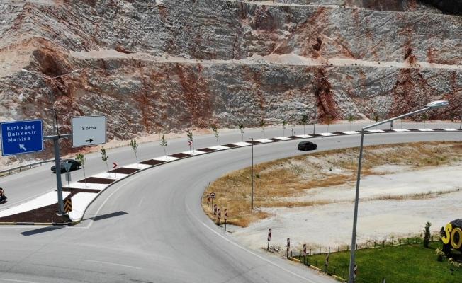 Maden Şehitleri Caddesi'ndeki düzenlemeler tamamlandı