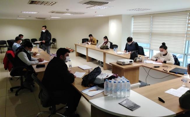 Manisa Büyükşehir Belediyesi personeline ilkyardım eğitimi