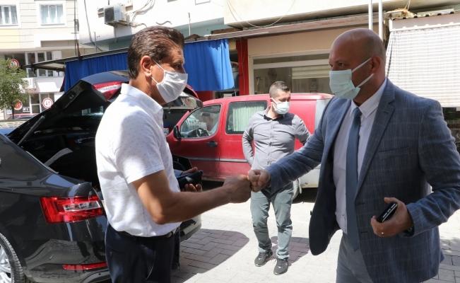 Manisa Büyükşehir Belediyesi'nden Turgutlu'ya inceleme ziyareti