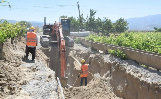 Manisa'da 30 milyon TL'lik çevreci yatırımın çalışmalarına başlandı
