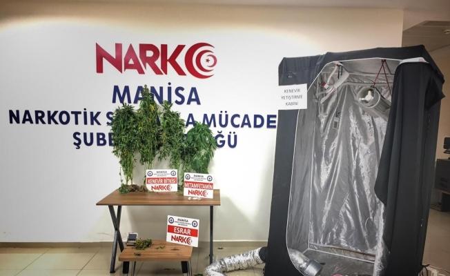 Manisa'da geniş çaplı uyuşturucu operasyonu