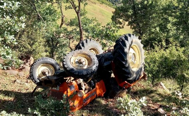 Manisa'da traktör kazası: 1 yaralı