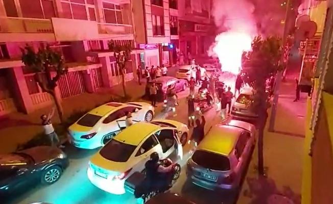 Polis coşkulu taraftarı hem tebrik etti hem de uyardı