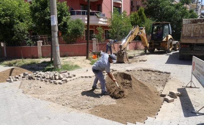 Turgutlu Belediyesi ilçenin modern görünümü için kolları sıvadı