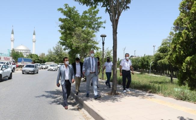 Turgutlu'da hastane yolu yenileniyor