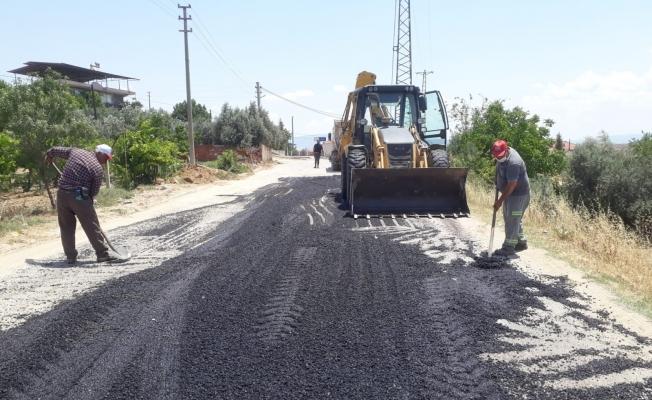 Alaşehir Belediyesi hizmette hız kesmiyor