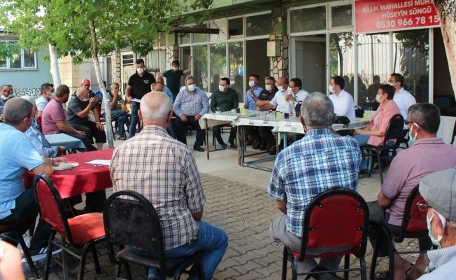 Alaşehir'de 'Tarım buluşmaları' başladı