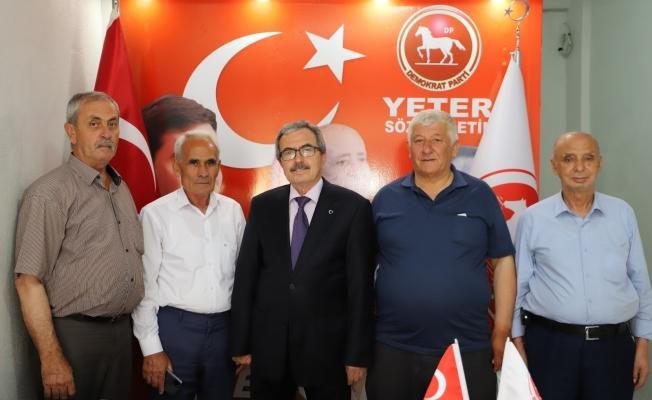 DP Saruhanlı'da teşkilat kurdu