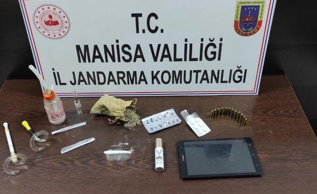 Evinde uyuşturucu ile yakalanan şüpheli gözaltına alındı