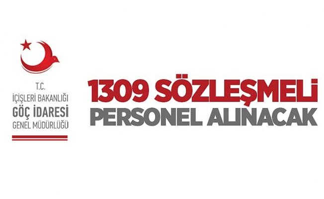 İçişleri Bakanlığı Göç İdaresi Genel Müdürlüğü 1309 sözleşmeli personel alacak