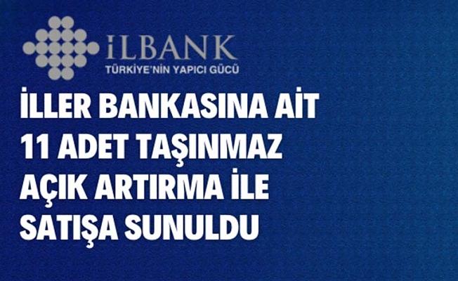 İller Bankasına ait 11 adet arsa satışa sunuldu