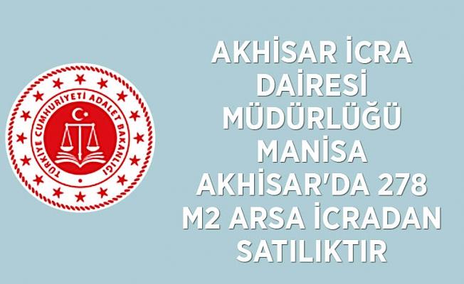 Manisa Akhisar'da 278 m2 arsa icradan satılıktır(çoklu satış)
