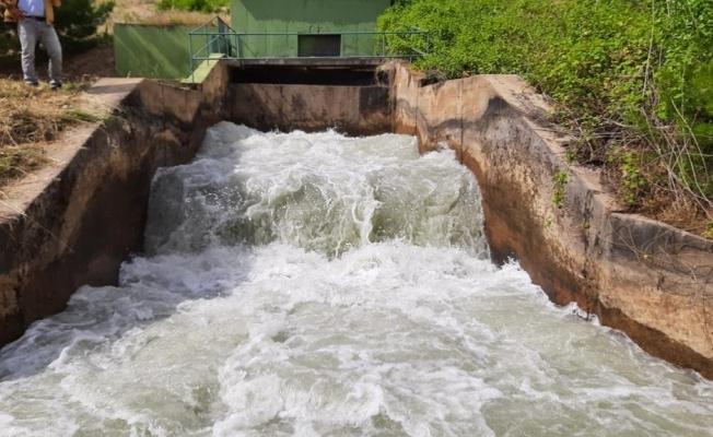 Manisa'da üzüm bağları için sulama sezonu açılıyor