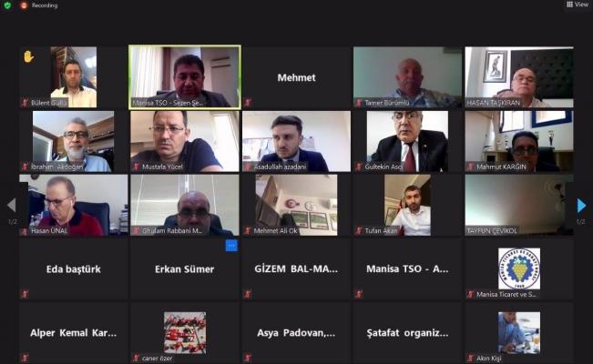 Manisalı iş adamları Afganistan'a yatırım imkanlarını öğrendi
