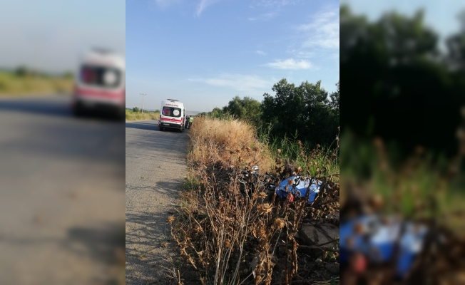 Motosiklet kazasında bir genç hayatını kaybetti