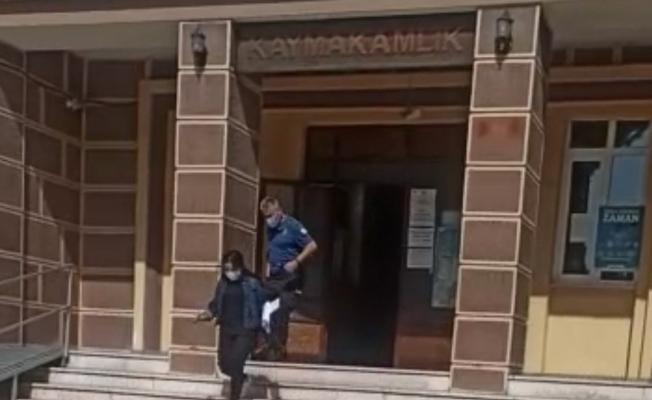 Öğrencinin imdadına polis yetişti
