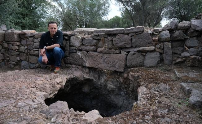 (Özel) 2800 yıllık antik kentin çöplüğü tarihe ışık tuttu