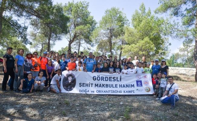 Pandemi sonrası Türkiye'nin ilk 'Doğa ve oryantiring' kampı Manisa'da yapıldı