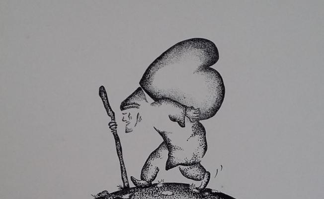 Sarıgöllü karikatürist Hasan Efe'ye Yunus Emre ödülü